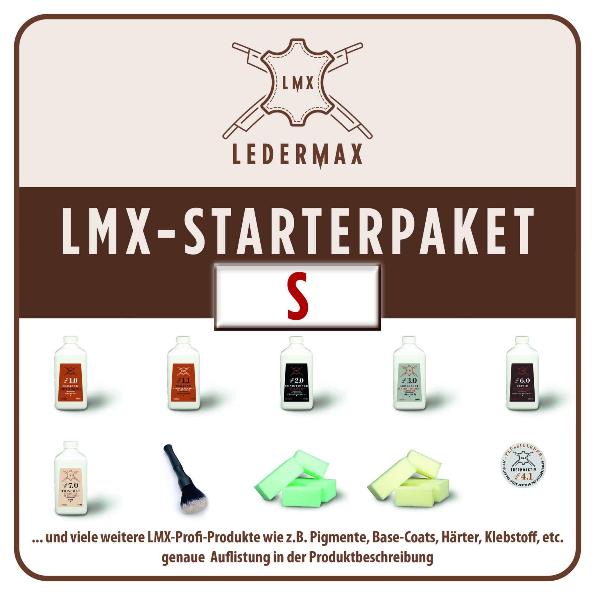 LMX LEDERMAX  Ledermax Starterpaket – S