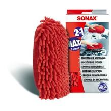 Sonax Microfaser Schwamm Rot