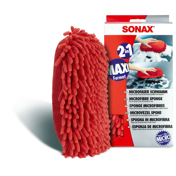 Sonax Sonax Microfaser Schwamm Rot