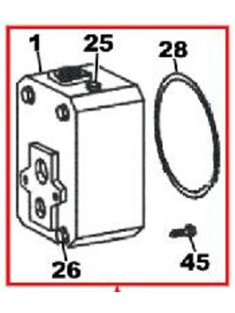 DAB pumps DAB pumps (1)* - (SP) Pump Body - R00005274