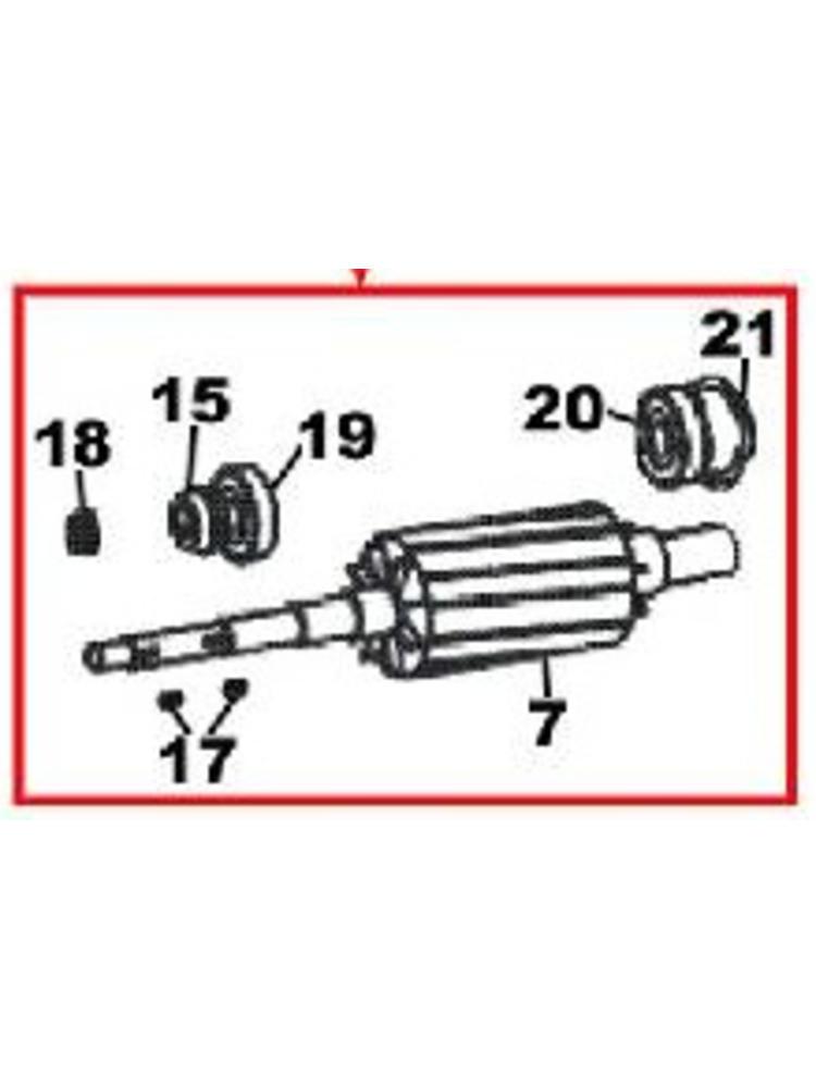DAB pumps (7) - (SP) Motor Shaft - R00005241