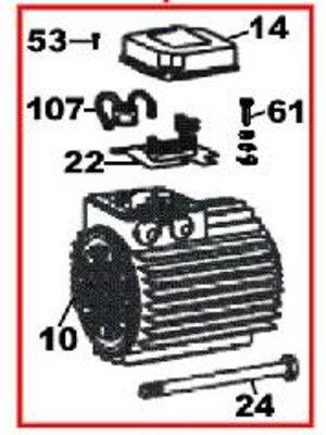 DAB pumps (10) - (SP) Motor - R00005246