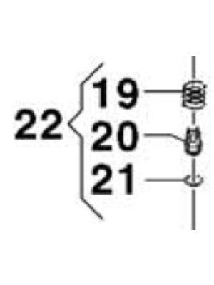 Comet hogedrukreinigers 5027 0025 - Check valve kit
