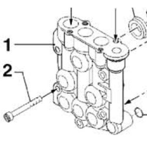Comet hogedrukreinigers 3218 0114 - Brass pump manifold