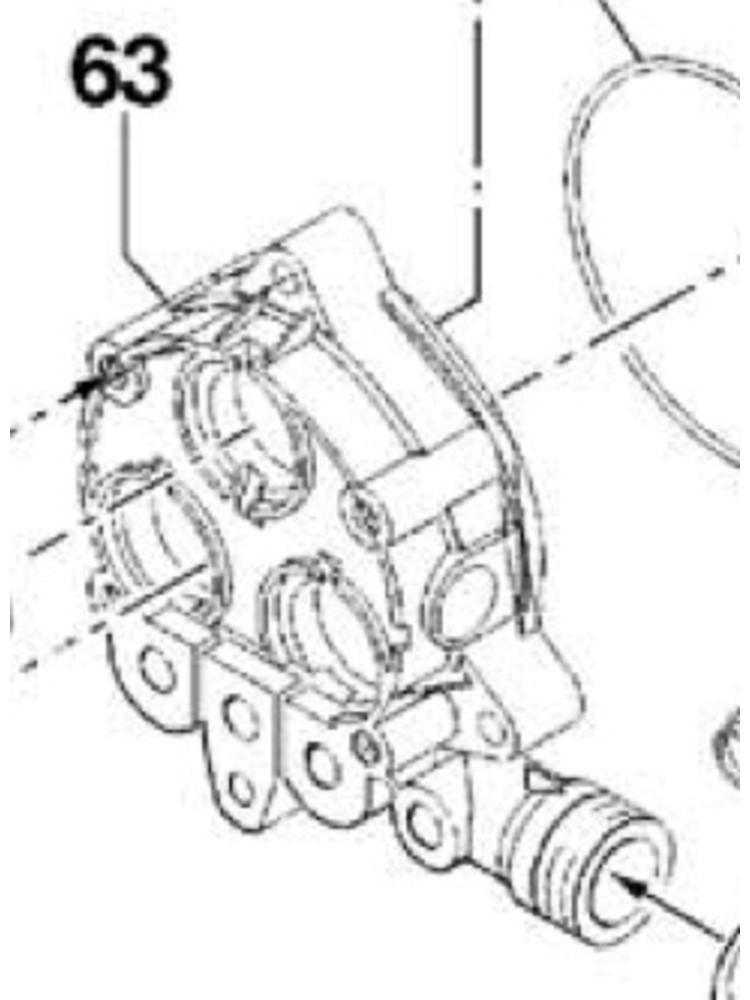 Comet hogedrukreinigers Comet onderdeel - 2432 0014 - Pump crankcase