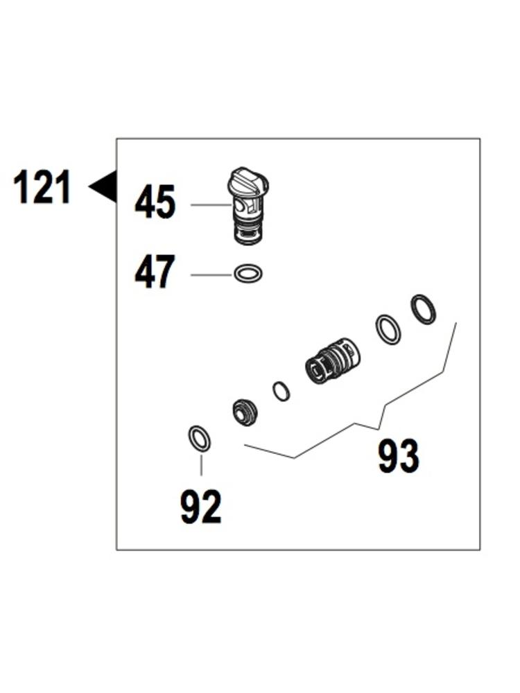 Comet hogedrukreinigers Comet onderdeel - 5025 0026 - Suction/delivery kit