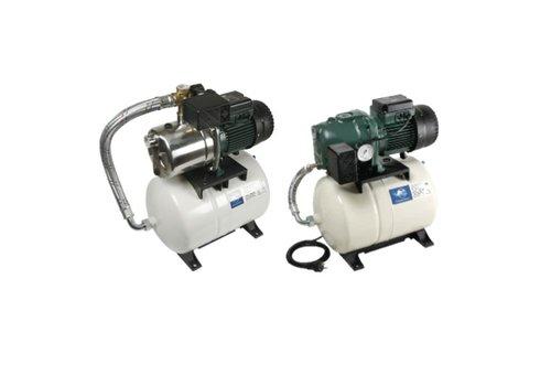 Waterpompen op drukvat