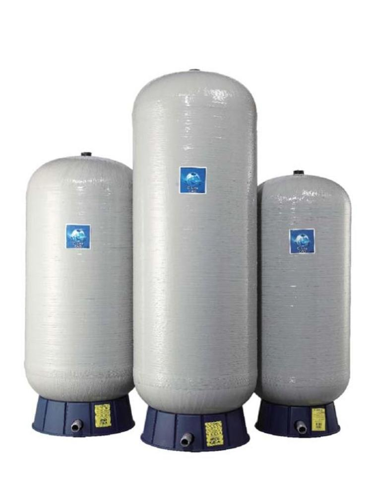 """Global Water Solutions C2-Lite 60 liter verticaal - 1"""" aansluiting - membraanvat"""
