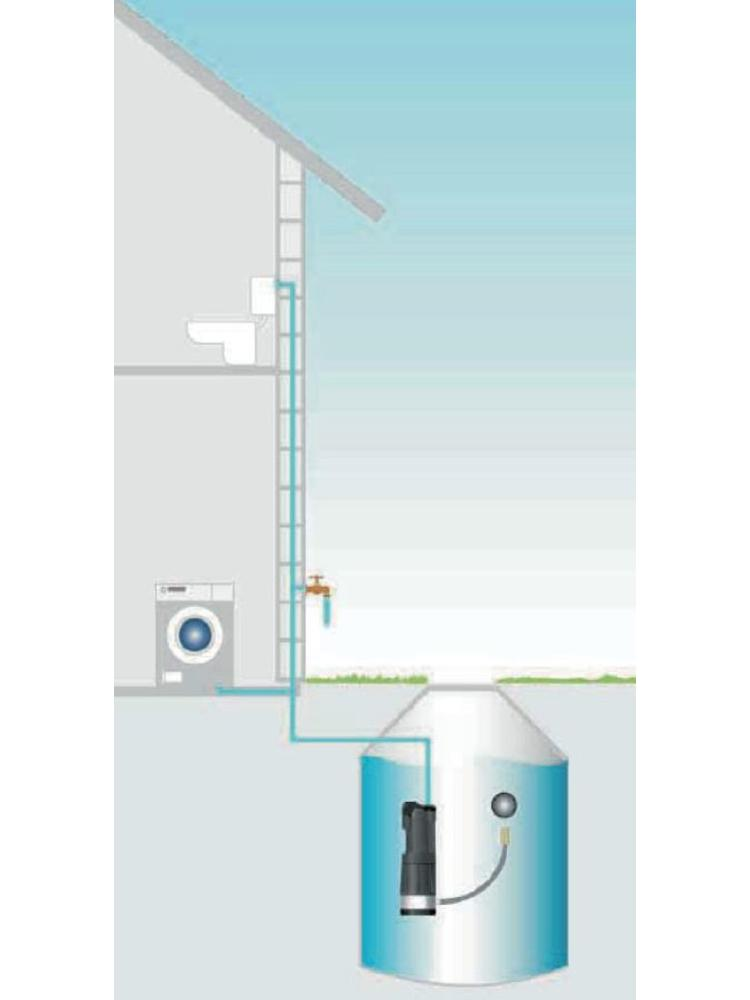 DAB pumps DAB KIT DIVERTRON X 1200 M - 5400 l/h - 1 pk