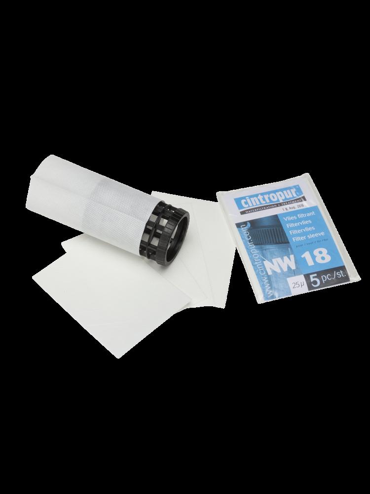 Cintropur Cintropur NW 18 Filtervliezen  per 5 stuks