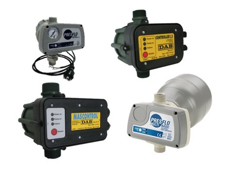 Presscontrol / electronische pompsturingen