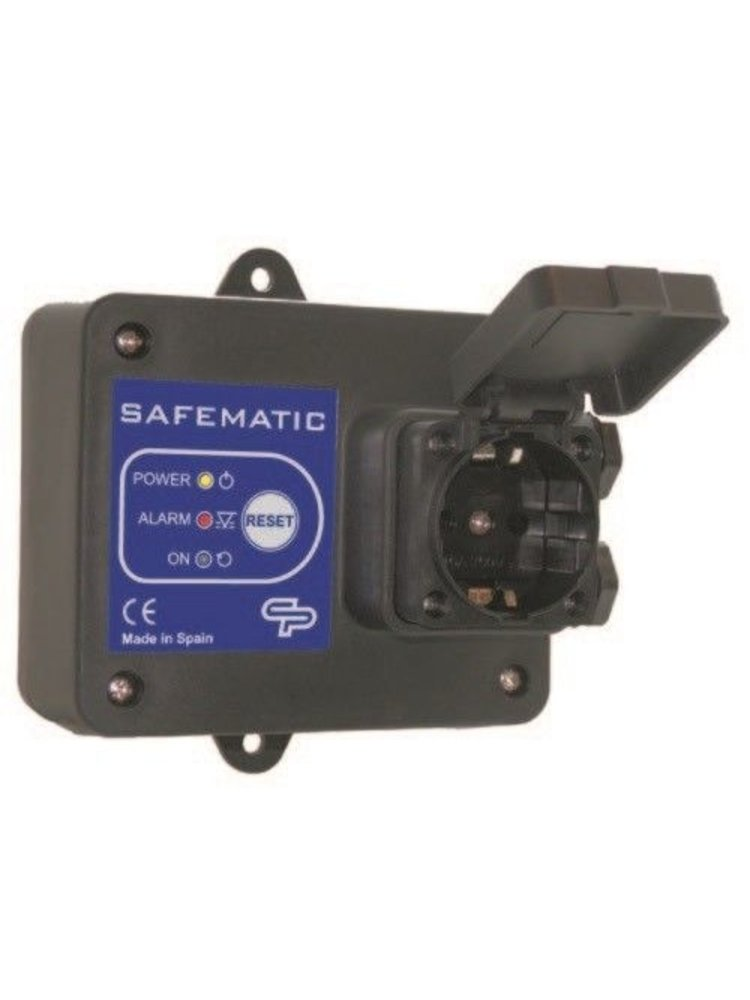 Coelbo pump drivers Safematic S 16 Amp. universele droogloopbeveiliging