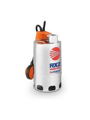 Pedrollo pumps RXm 4/40 Vortex - met vlotter