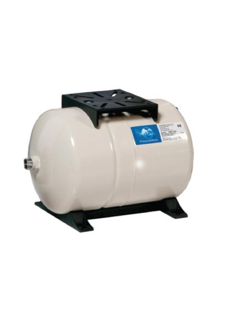 """Global Water Solutions Pressure Wave 100 liter horizontaal - 1"""" aansluiting - membraanvat"""