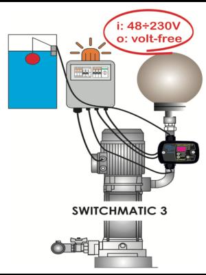 Coelbo pump drivers Elektronische drukschakelaar - Switchmatic 3