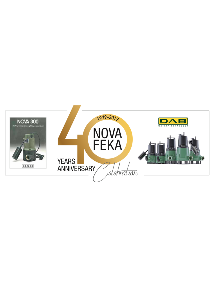 DAB pumps DAB FEKA 300 M NA 40th - zonder vlotter