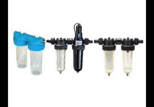 Dubbele waterbehandelingsfilters