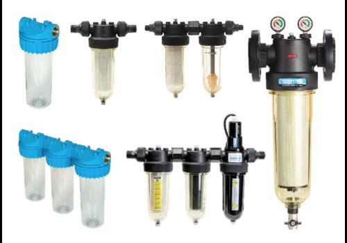 Alle waterbehandelingsfilters