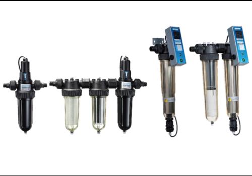 Ultraviolet waterbehandelingsfilters