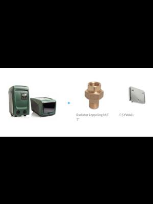 DAB pumps DAB E.SYBOX mini3 inclusief 2x koppeling & Esywall