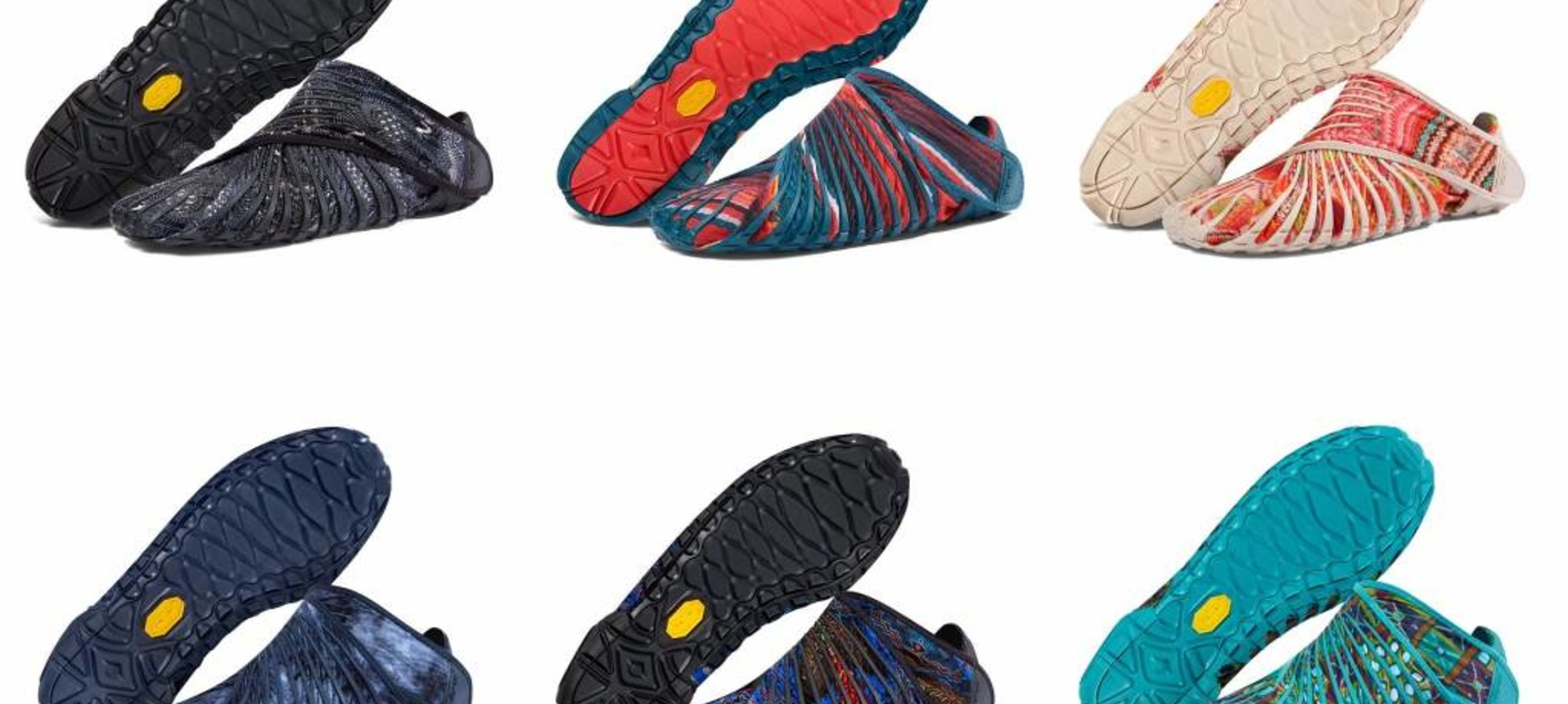Voorverkoop Vibram Furoshiki: nieuwe kleuren 2017
