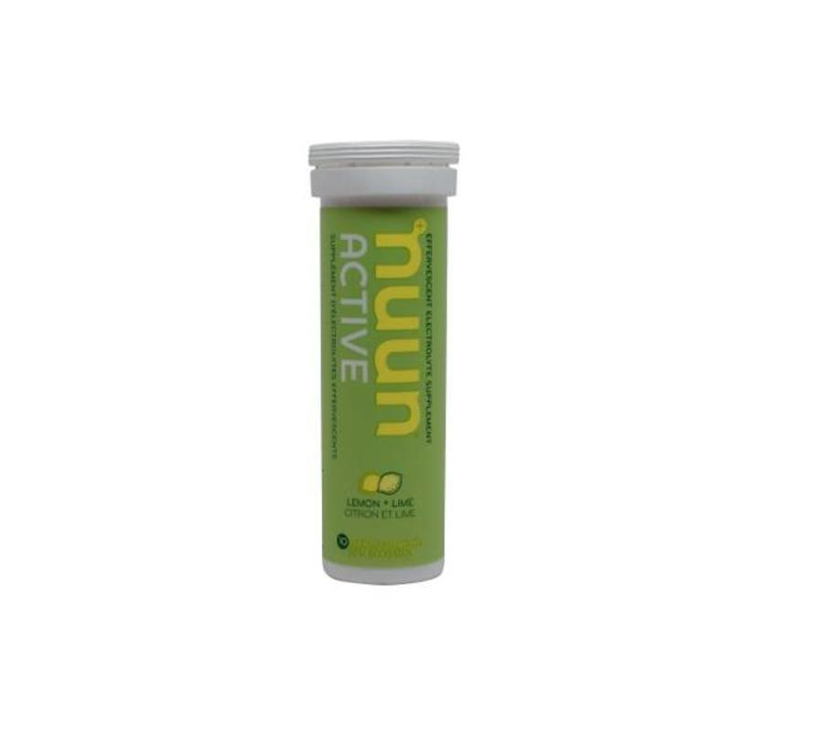 Lemon + Lime - Suikerarme sportdrank