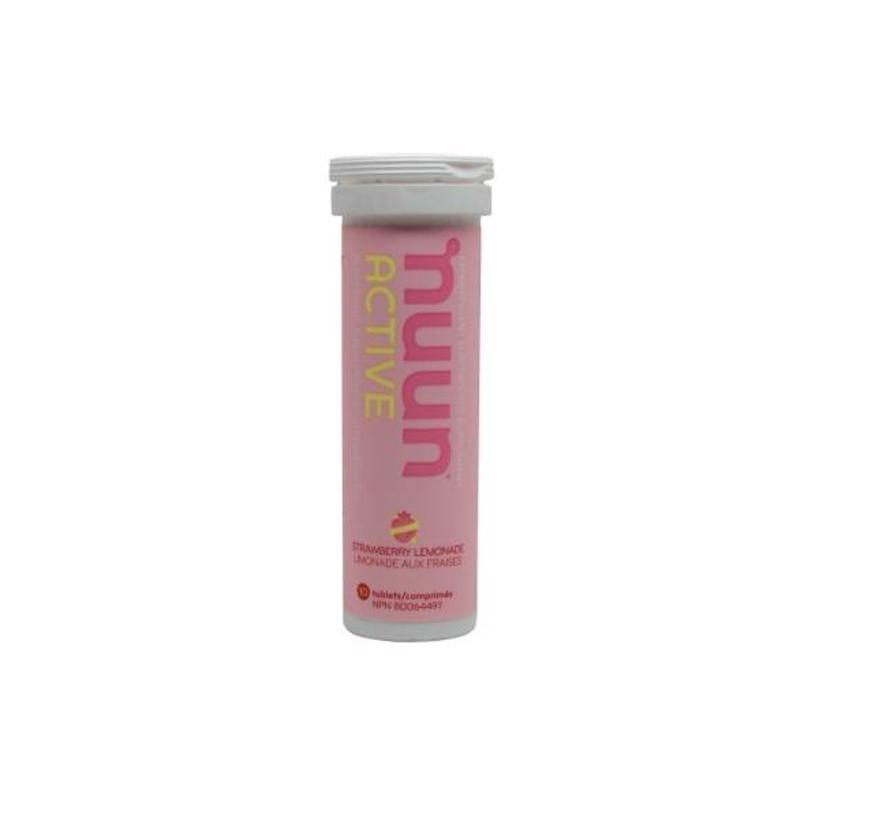 Strawberry Lemonade - Suikerarme sportdrank
