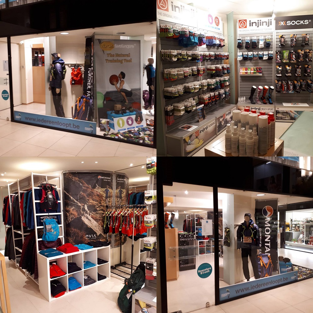IEDEREEN LOOPT Pop-Up Store Roeselare
