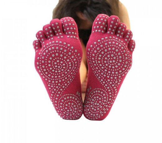 Toetoe | Yogasokken met tenen en anti-slip