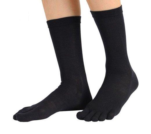 TOETOE chaussettes à cinq doigts