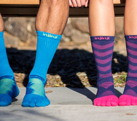 Prevent blisters with Injinji