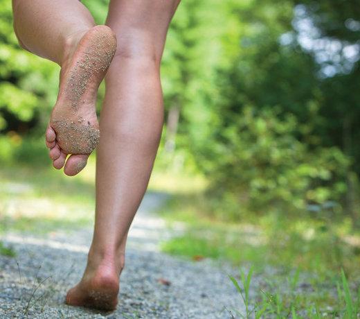 Qu'est-ce que c'est que de courir pieds nus ?