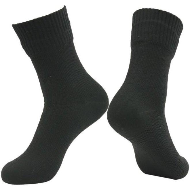 Waterproof Sock - Black - Mid-calf - RS12