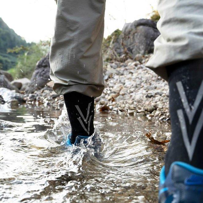 Waterdichte Sok - Zwart - Merino - Halflang - RS126