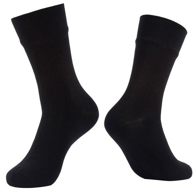 Chaussette imperméable - noire - mince - mi-mollet - RS124