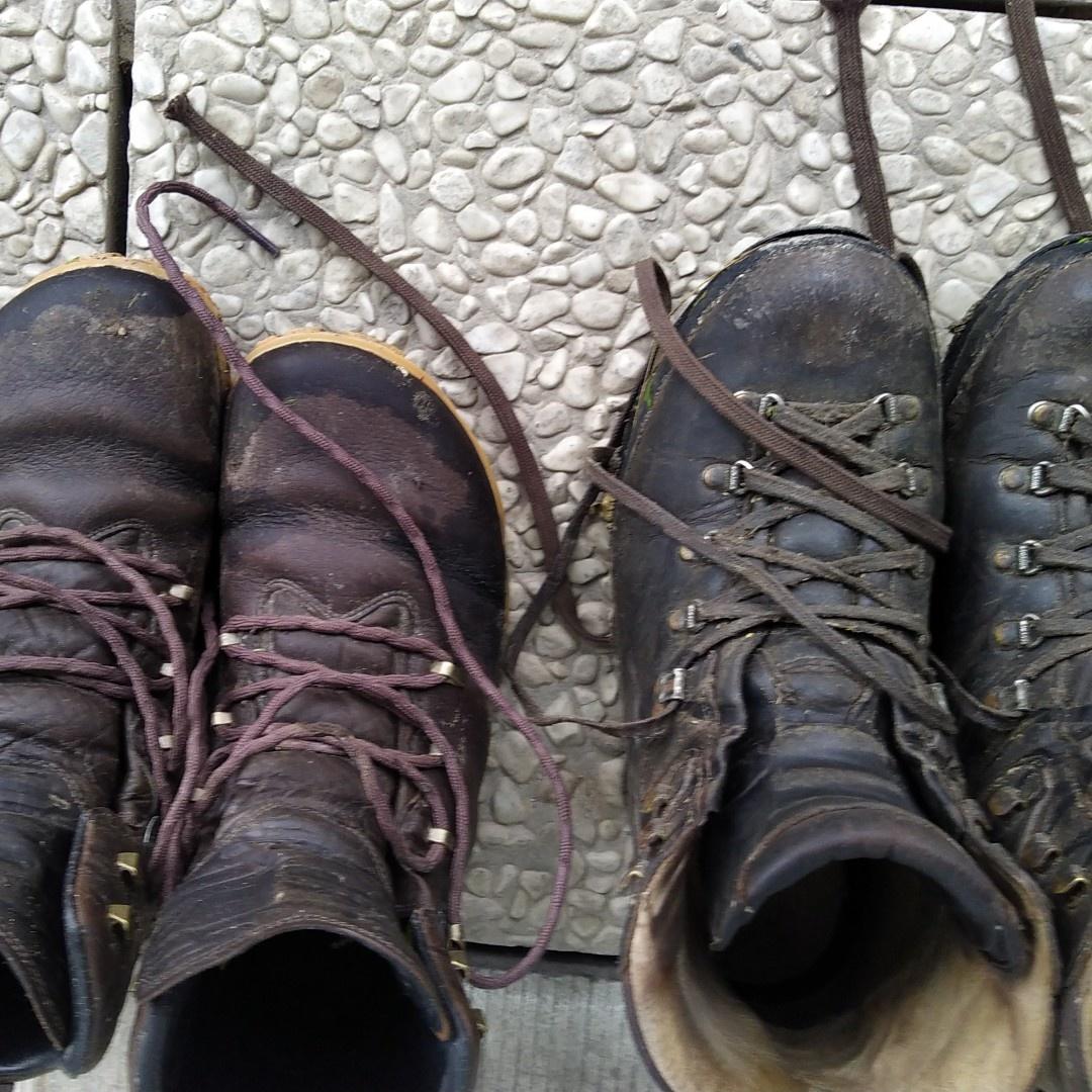 Vivobarefoot Tracker Forest ESC - 2 schoenen drogen