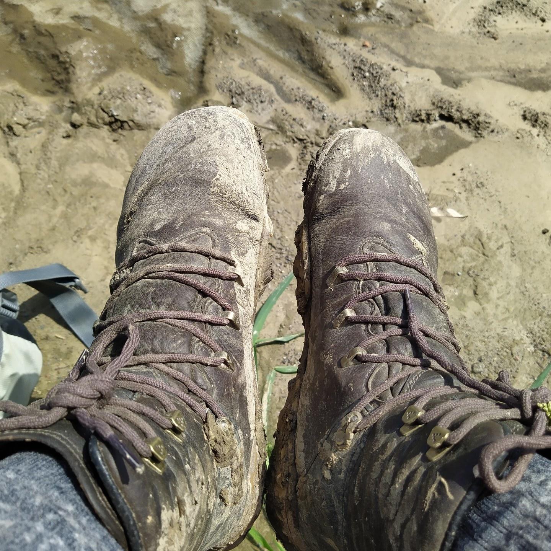 Vivobarefoot Tracker Forest ESC - 6 Nog meer modder
