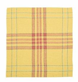 linen tea towel Bonnie Brae lemon