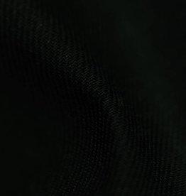 gabardine cotton – linen black
