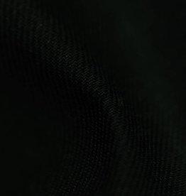 gabardine katoen-linnen zwart