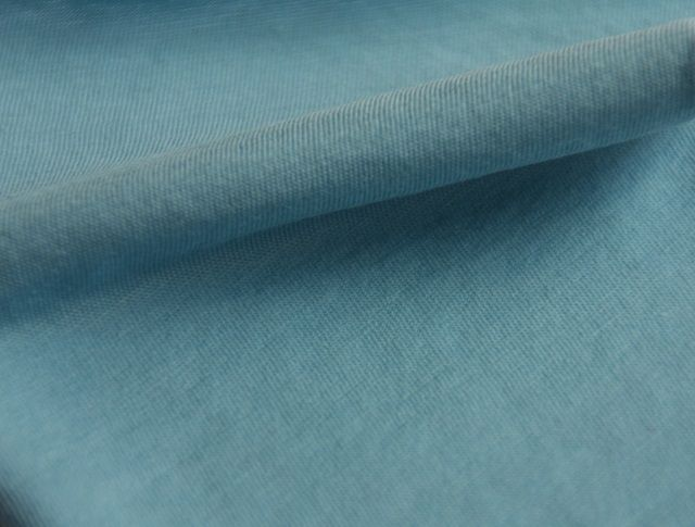 jersey from organic cotton, pale blue