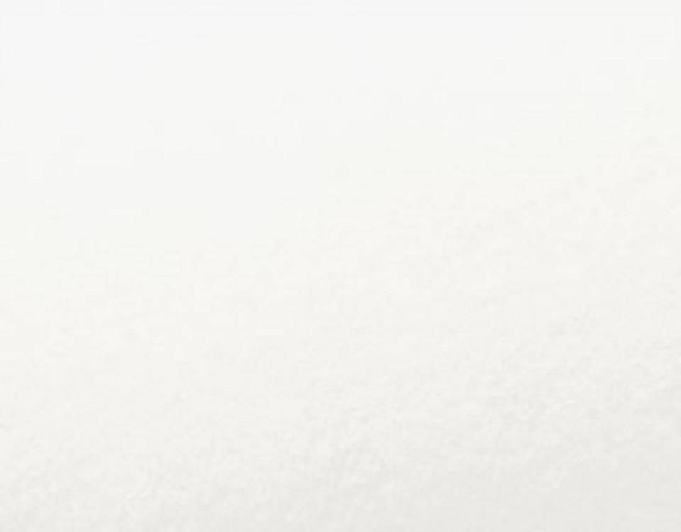 flanellen hoeslaken van biologische katoen, wit