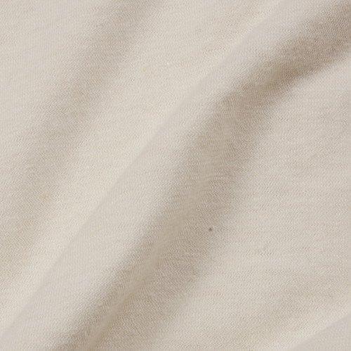 jersey van hennep en biologische katoen (medium weight), naturel