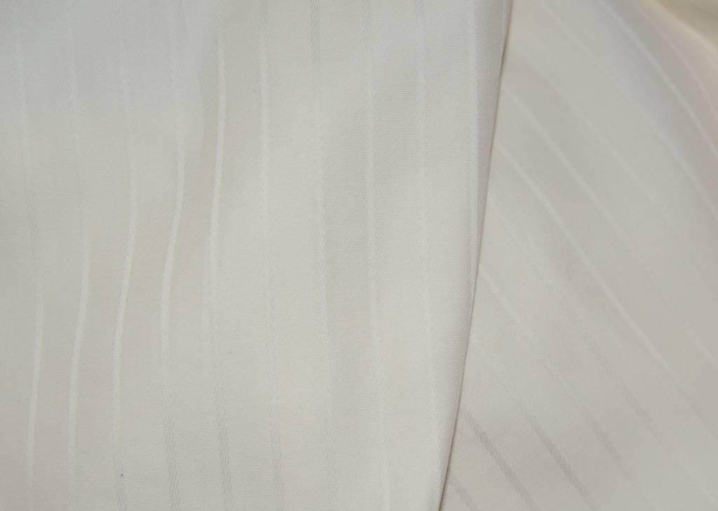 dekbedovertrek van biologisch katoensatijn, gebroken wit