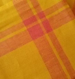 linen tea towel Hudson yellow