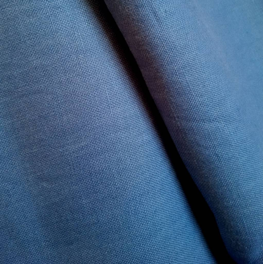 linen, brilliant blue