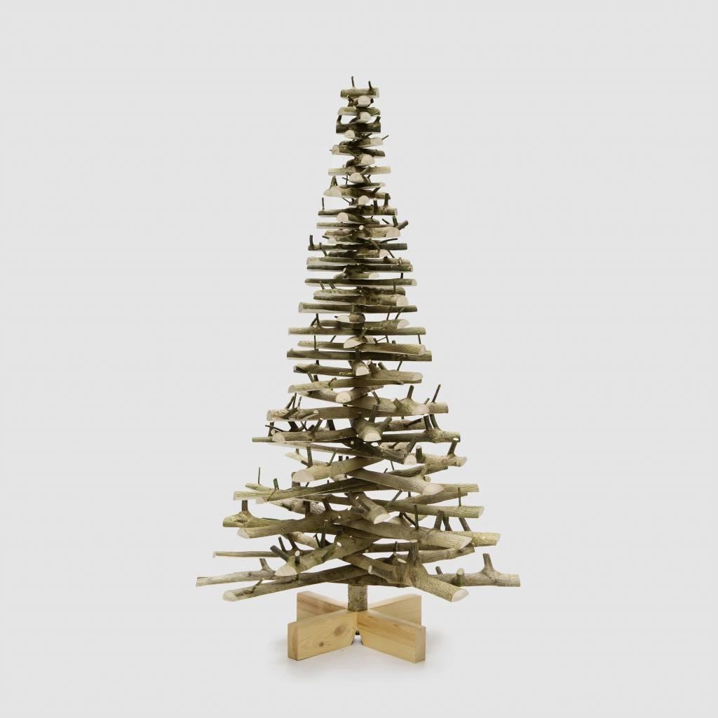 Houten kerstboom Hulst