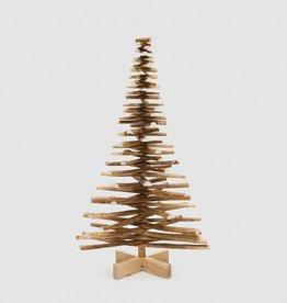Houten kerstboom hazelaar