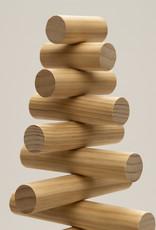 Houten kerstboom ronde 35 mm takken