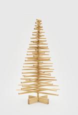 Houten kerstboom ronde 28 mm takken